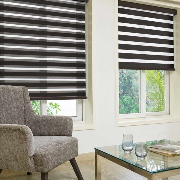 Alma Chocolate Duplex Blinds 1