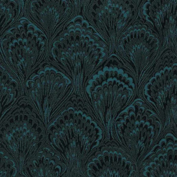 Feather Peacock Roller Blind 2