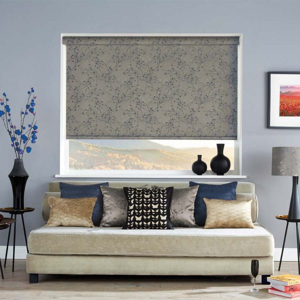 Forest Azure Roller Blind 1