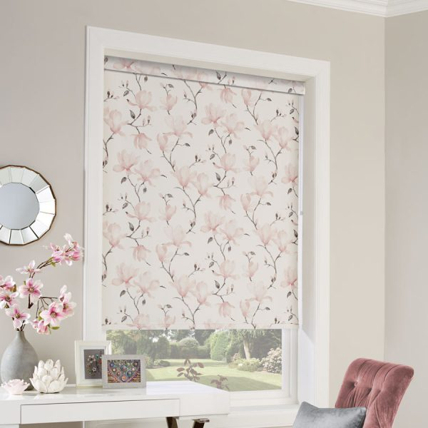 Waterflower Dusky Roller Blind 1
