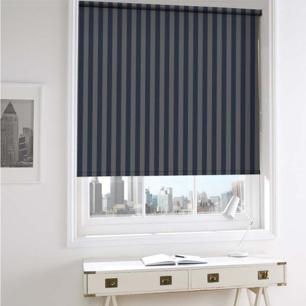 Regal Navy Roller Blind 3