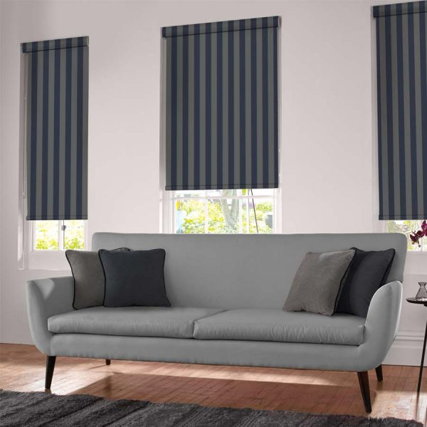 Regal Navy Roller Blind 1