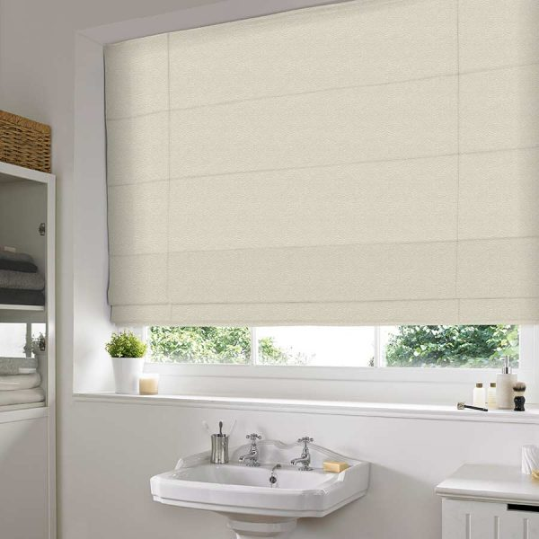 Ostrich Buttermilk Roman Blind 1