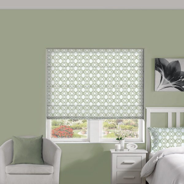 Solitaire Juniper Roman Blind 1