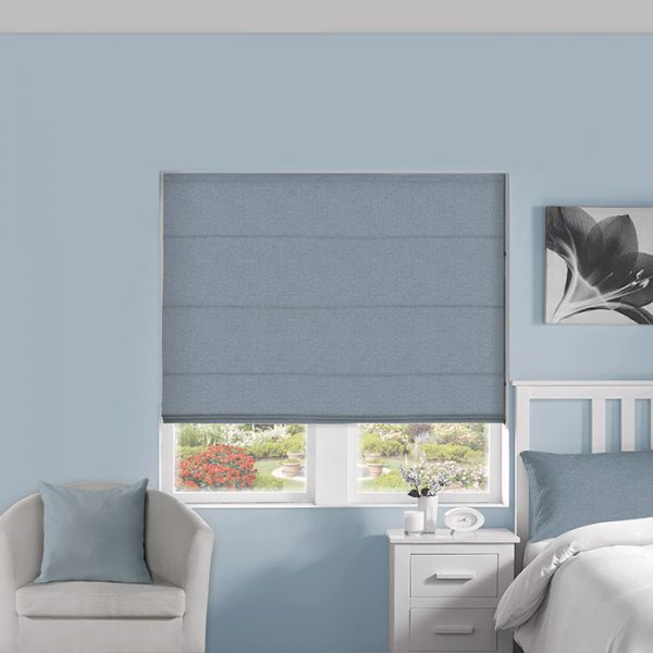 Speckle Lapis Roman Blind 1