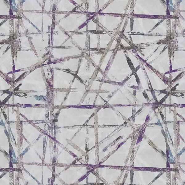 Abstract Amethyst Roman Blind 2